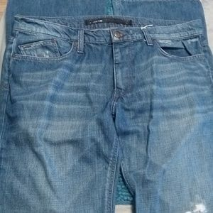 Joe's Rocker distressed Jeans